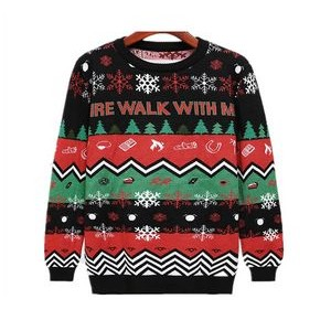 Unisex Christmas Ugly Sweater Pullover